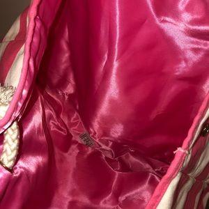 Victoria's Secret Bags - NWOT Victoria's Secret Striped Beach Bag